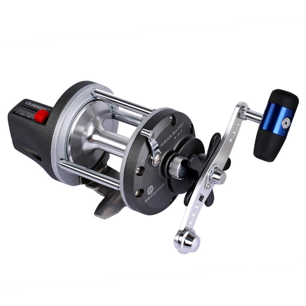 Haibo Ior Metal Baitcasting Fishing Reel Drum Type Line Counter Casting Boat-Line Counters-Bargain Bait Box-Bargain Bait Box