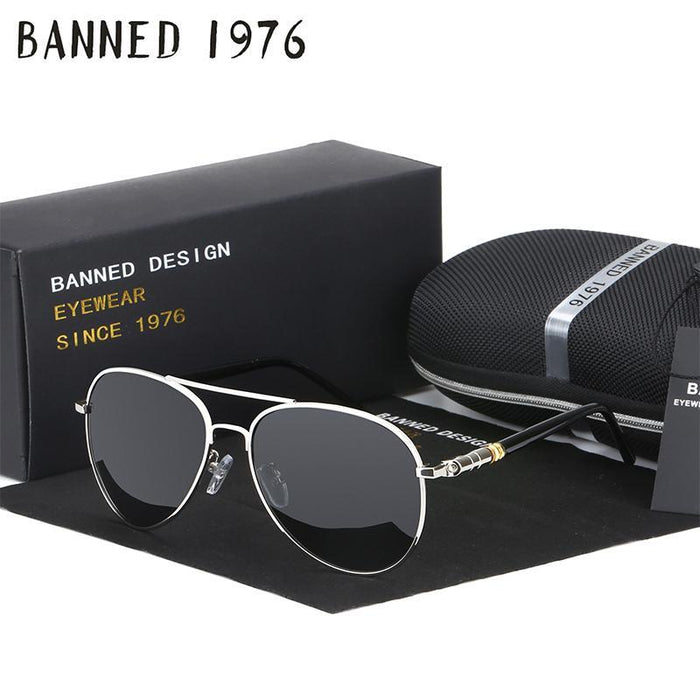 Hd Polarized Sunglasses For Men Aviator Sunglasses Men For Driving Luxury-Polarized Sunglasses-Bargain Bait Box-coffee-Bargain Bait Box