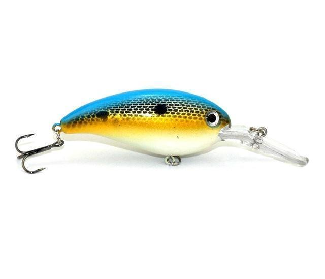 Hengjia 1Pc Crankbait Fishing Wobblers 14G 10Cm Artificial Crank Bait Bass-HengJia Trade co., Ltd-2-Bargain Bait Box