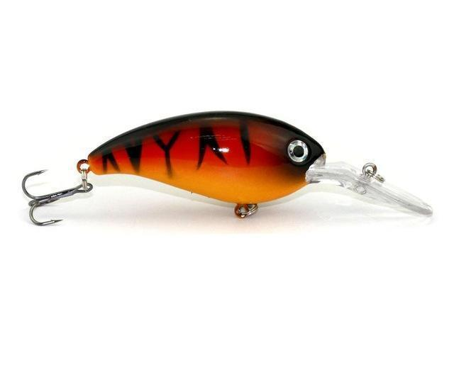 Hengjia 1Pc Crankbait Fishing Wobblers 14G 10Cm Artificial Crank Bait Bass-HengJia Trade co., Ltd-3-Bargain Bait Box