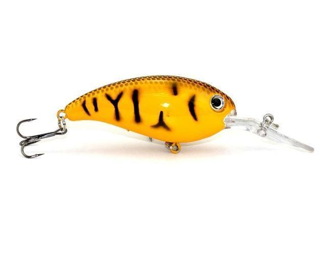 Hengjia 1Pc Crankbait Fishing Wobblers 14G 10Cm Artificial Crank Bait Bass-HengJia Trade co., Ltd-4-Bargain Bait Box