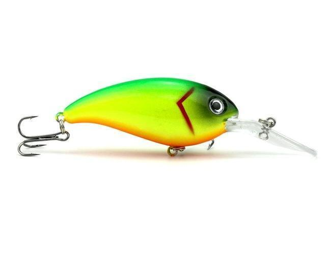Hengjia 1Pc Crankbait Fishing Wobblers 14G 10Cm Artificial Crank Bait Bass-HengJia Trade co., Ltd-8-Bargain Bait Box