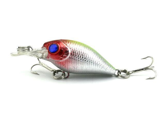 Hengjia 1Pc Mini Crankbait Fishing Lure Crank Bass Bait Pesca Wobblers Hard-HengJia Trade co., Ltd-5-Bargain Bait Box