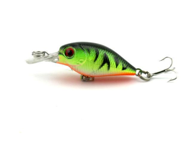 Hengjia 1Pc Mini Crankbait Fishing Lure Crank Bass Bait Pesca Wobblers Hard-HengJia Trade co., Ltd-7-Bargain Bait Box