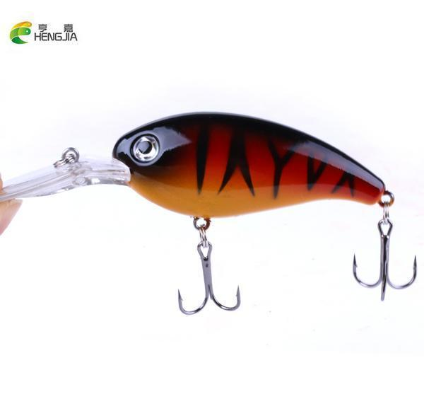 Hengjia 1Pcs Crankbait Fishing Wobbler 14G 10Cm Hard Bait Bass Spinner Fishing-HENGJIA official store-CB031 1-Bargain Bait Box