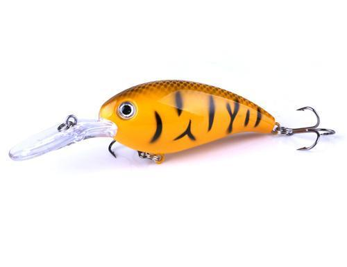 Hengjia 1Pcs Crankbait Fishing Wobbler 14G 10Cm Hard Bait Bass Spinner Fishing-HENGJIA official store-CB031 4-Bargain Bait Box