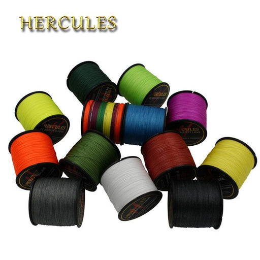 Hercules 100% Super Jigging 500M Pe Braid Fishing Line Sea Carp Fishing-Hercules Official Store-500M White-0.2-Bargain Bait Box