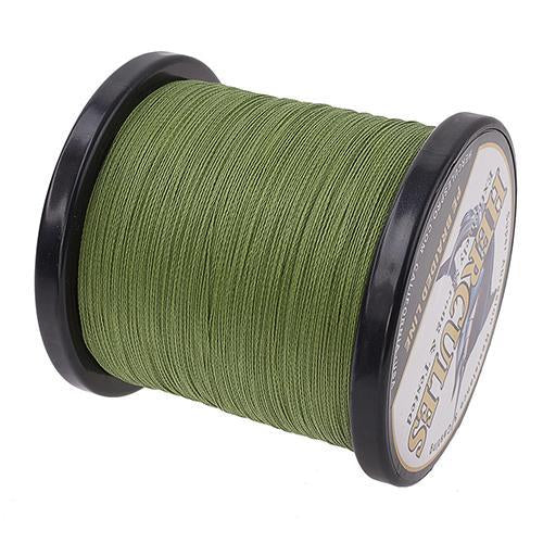 Hercules Fishing Line 1000M 4 Strands Pe Braided Wire Multifilament Weaves Peche-Hercules Pro store-Army Green-0.2-Bargain Bait Box