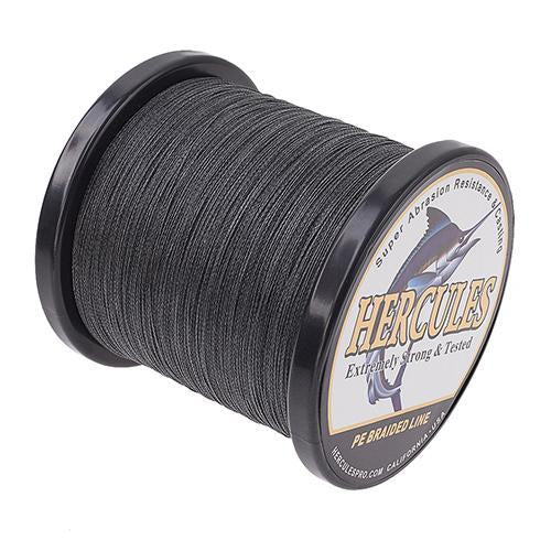 Hercules Fishing Line 1000M 4 Strands Pe Braided Wire Multifilament Weaves Peche-Hercules Pro store-Black-0.2-Bargain Bait Box