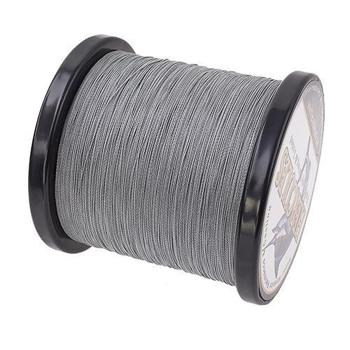 Hercules Fishing Line 1000M 4 Strands Pe Braided Wire Multifilament Weaves Peche-Hercules Pro store-Gray-0.2-Bargain Bait Box