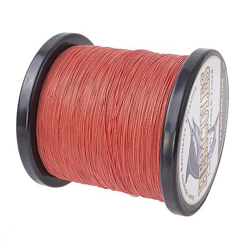 Hercules Fishing Line 1000M 4 Strands Pe Braided Wire Multifilament Weaves Peche-Hercules Pro store-Red-0.2-Bargain Bait Box
