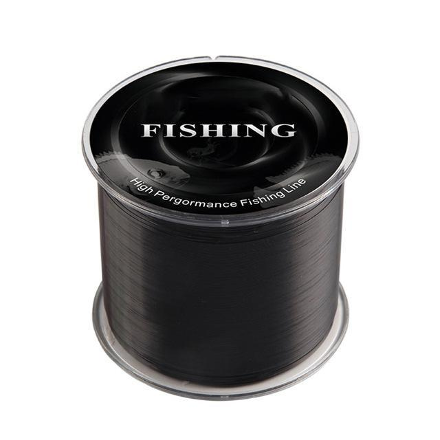 High Pergormance Fishing Line Quality 500M Super Strong 100% Nylon-Fahrenheit01 Store-Black-0.6-Bargain Bait Box
