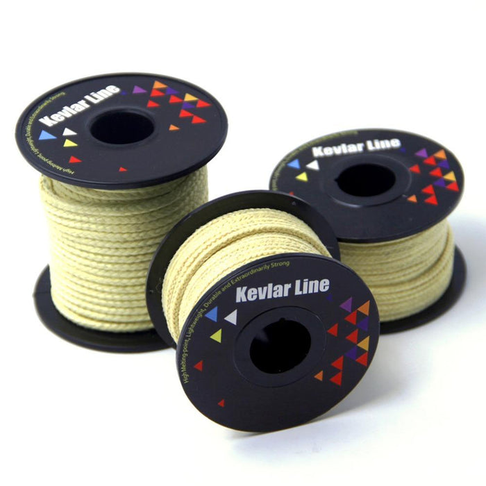 High Quality 100 Ft Of 500 Lb Braided Kevlar Line Large Power Stunt Kevlar-Goodmakings Outdoor Store-Bargain Bait Box