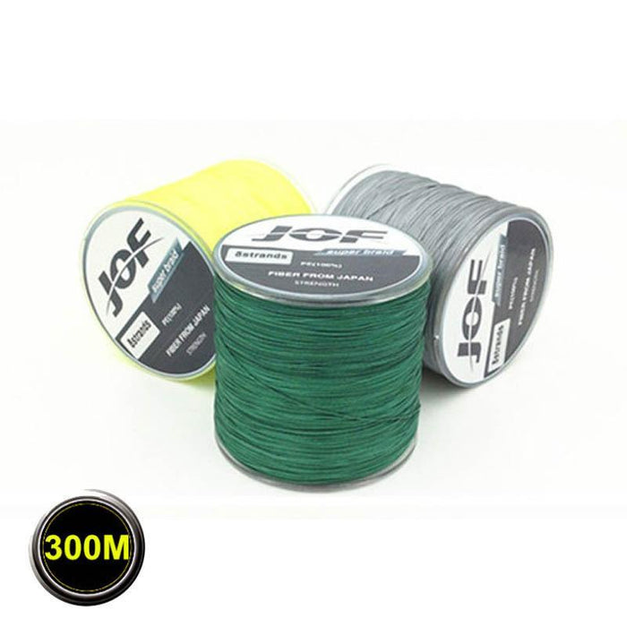 High Quality 8 Strands 300M Super Strong Japan Multifilament Pe 8 Braided-LooDeel Outdoor Sporting Store-Multi-1.0-Bargain Bait Box