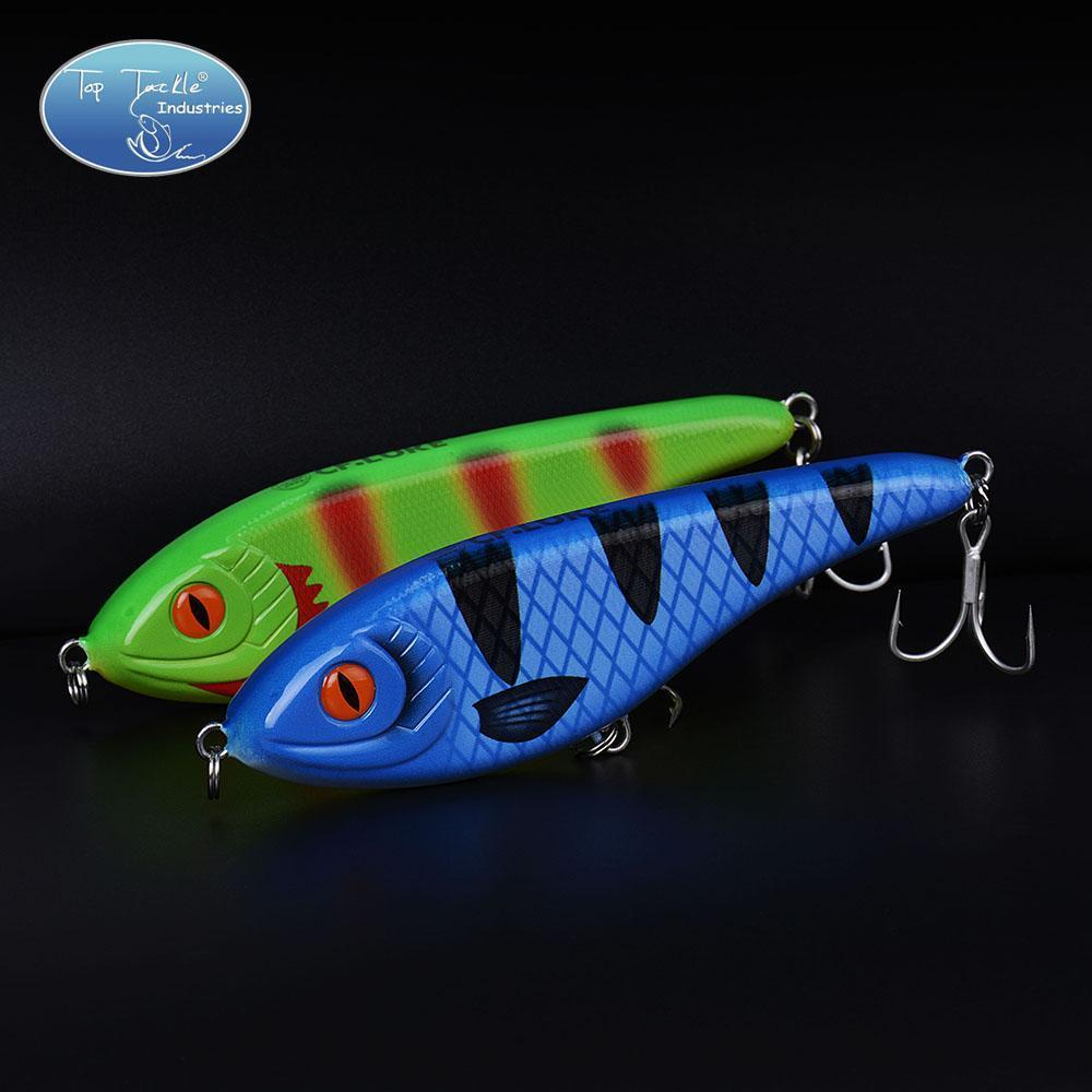 High-Quality Fishing Lure Jerk Bait Fishing Lures 150Mm 76.5G-TOP TACKLE INDUSTRIES-150mm 76g 001-Bargain Bait Box