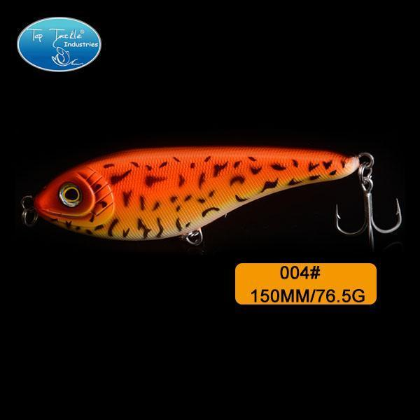 High-Quality Fishing Lure Jerk Bait Fishing Lures 150Mm 76.5G-TOP TACKLE INDUSTRIES-150mm 76g 004-Bargain Bait Box