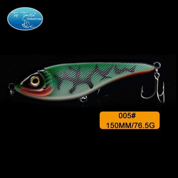 High-Quality Fishing Lure Jerk Bait Fishing Lures 150Mm 76.5G-TOP TACKLE INDUSTRIES-150mm 76g 005-Bargain Bait Box