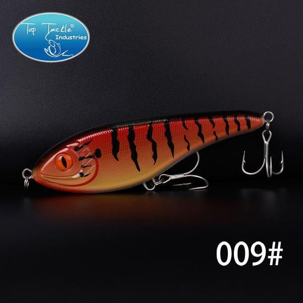 High-Quality Fishing Lure Jerk Bait Fishing Lures 150Mm 76.5G-TOP TACKLE INDUSTRIES-150mm 76g 009-Bargain Bait Box