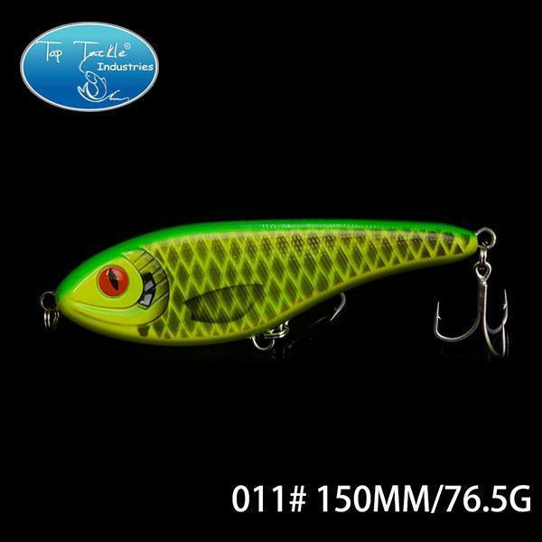 High-Quality Fishing Lure Jerk Bait Fishing Lures 150Mm 76.5G-TOP TACKLE INDUSTRIES-150mm 76g 011-Bargain Bait Box