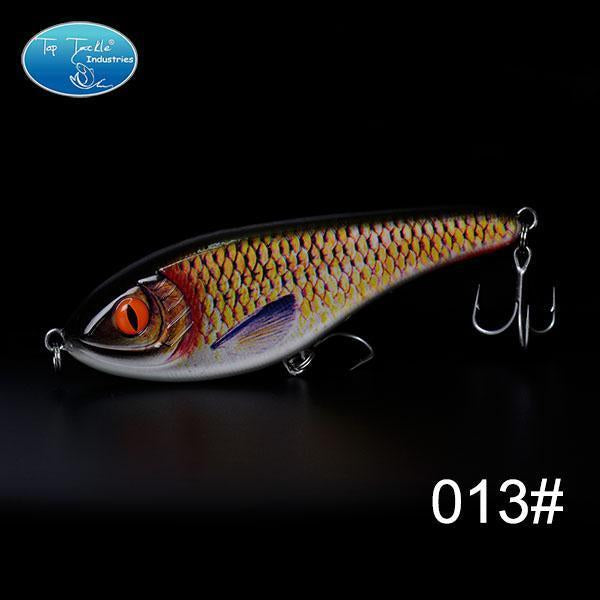 High-Quality Fishing Lure Jerk Bait Fishing Lures 150Mm 76.5G-TOP TACKLE INDUSTRIES-150mm 76g 013-Bargain Bait Box