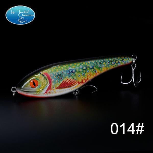 High-Quality Fishing Lure Jerk Bait Fishing Lures 150Mm 76.5G-TOP TACKLE INDUSTRIES-150mm 76g 014-Bargain Bait Box