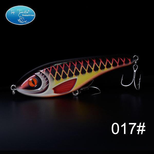 High-Quality Fishing Lure Jerk Bait Fishing Lures 150Mm 76.5G-TOP TACKLE INDUSTRIES-150mm 76g 017-Bargain Bait Box