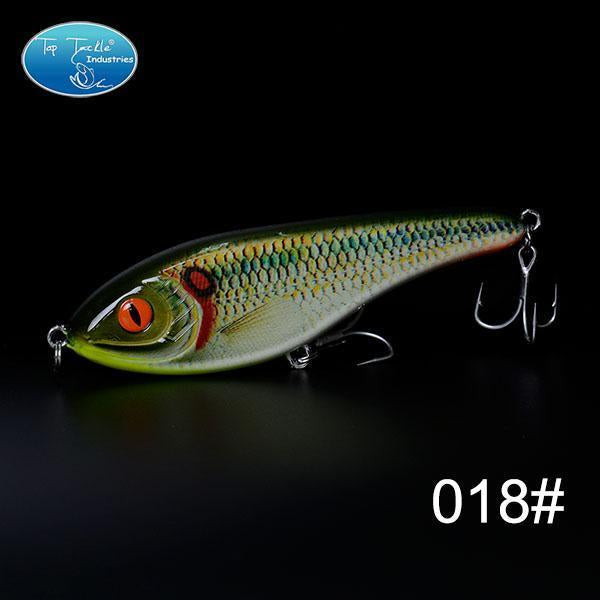 High-Quality Fishing Lure Jerk Bait Fishing Lures 150Mm 76.5G-TOP TACKLE INDUSTRIES-150mm 76g 018-Bargain Bait Box