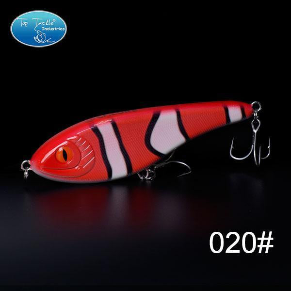 High-Quality Fishing Lure Jerk Bait Fishing Lures 150Mm 76.5G-TOP TACKLE INDUSTRIES-150mm 76g 020-Bargain Bait Box