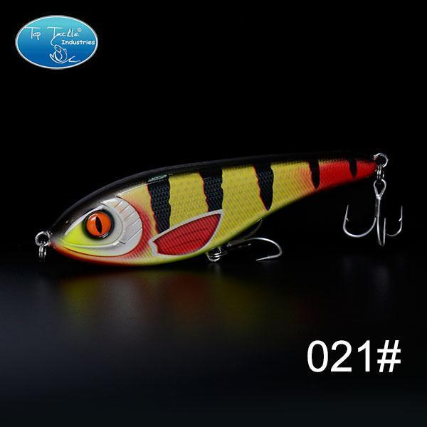 High-Quality Fishing Lure Jerk Bait Fishing Lures 150Mm 76.5G-TOP TACKLE INDUSTRIES-150mm 76g 021-Bargain Bait Box
