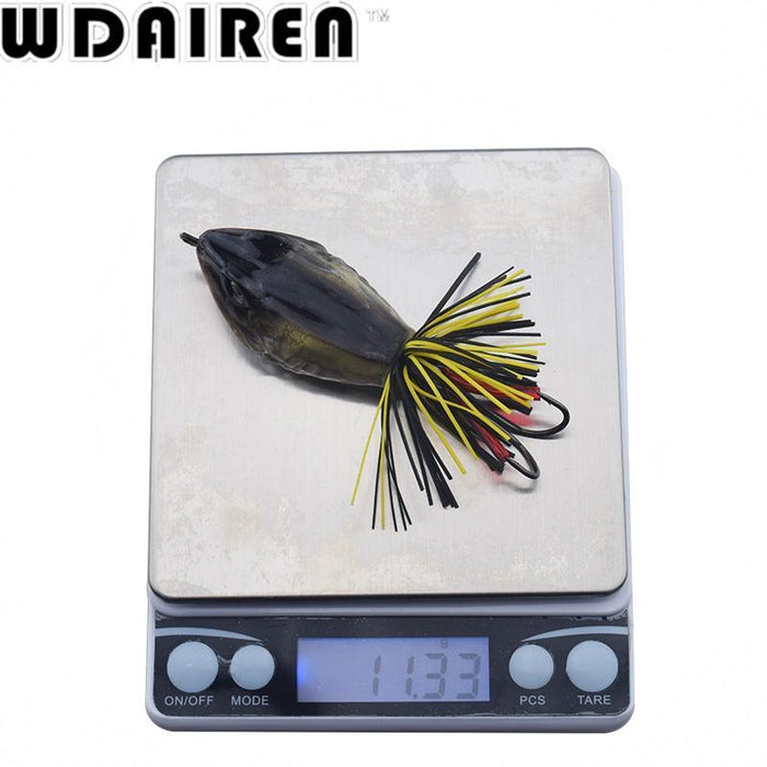 High Quality Kopper Live Target Abs Frog Lure 5Cm 12G Snakehead Lure Topwater-WDAIREN fishing gear Store-A-Bargain Bait Box