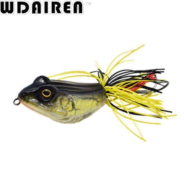 High Quality Kopper Live Target Abs Frog Lure 5Cm 12G Snakehead Lure Topwater-WDAIREN fishing gear Store-C-Bargain Bait Box