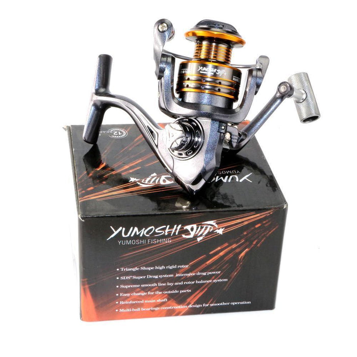 High Quality Metal Material Spinning Fishing Reel, 12Bb, Mk2000-5000 Series,-Spinning Reels-DAGEZI Store-2000 Series-Bargain Bait Box