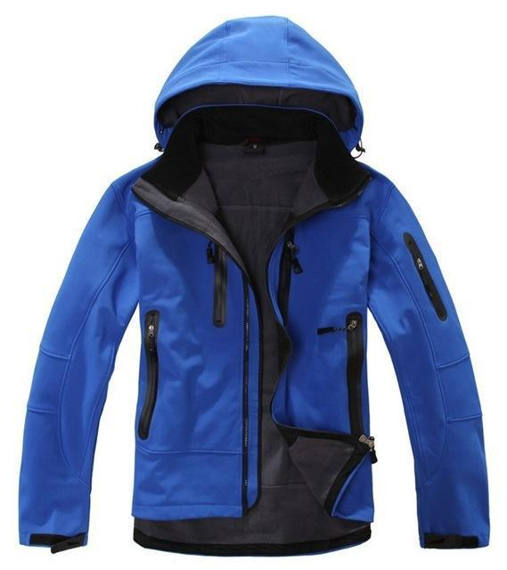 High Quality Oem Brand Men'S Softshell Jacket Softshell Pant Sportswear-Longwolf Camping Store-blue-S-Bargain Bait Box