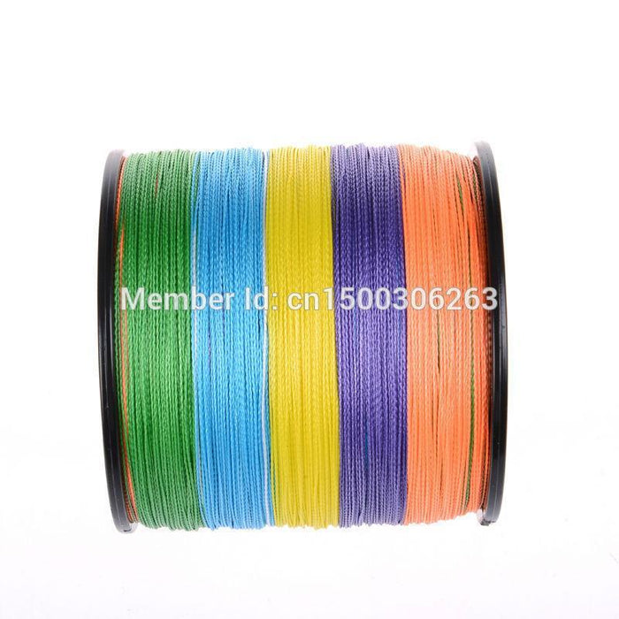 High Quality Super Strong Multi-Color Japan Pe Multifilament Braided Fishing-WuHe Pro Fishing tackle-0.4-Bargain Bait Box