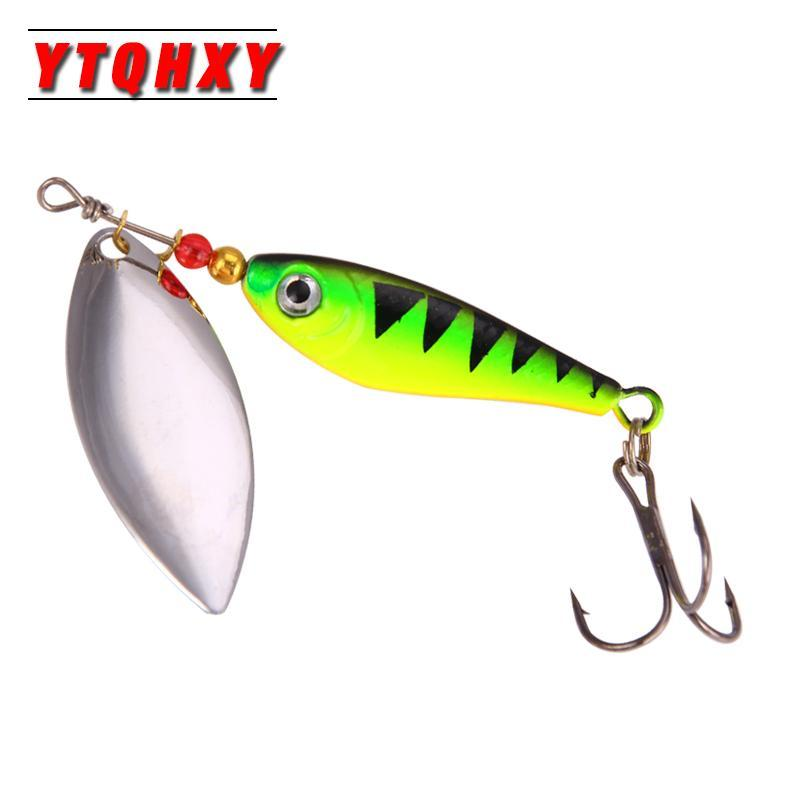 Hight Quality Spinner Spoon Baits Fishing Lure Isca Artificial Pesca 11G 15G 20G-Be a Invincible fishing Store-A-Bargain Bait Box