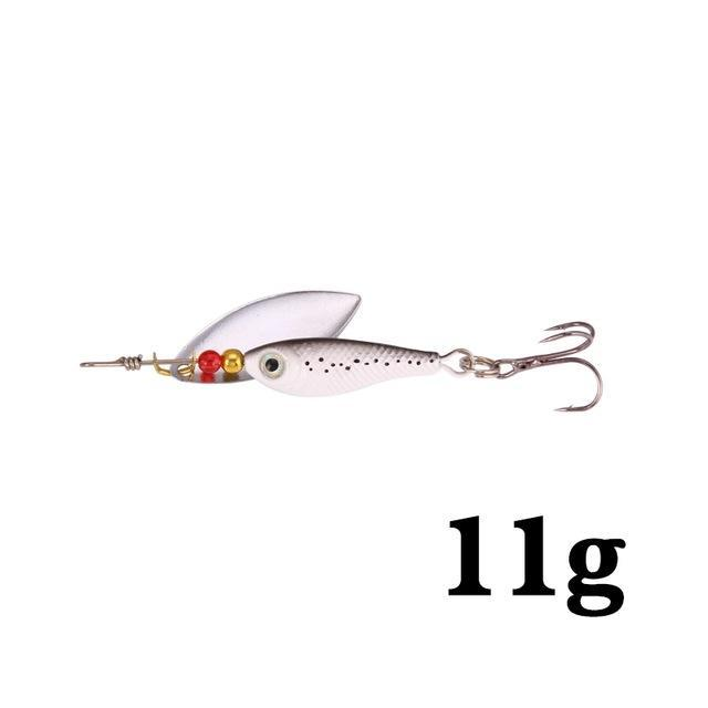 Hight Quality Spinner Spoon Baits Fishing Lure Isca Artificial Pesca 11G 15G 20G-Be a Invincible fishing Store-D-Bargain Bait Box