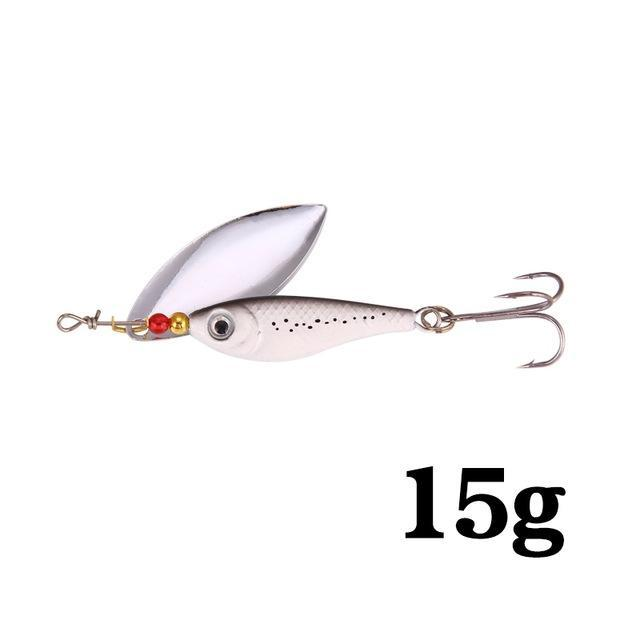 Hight Quality Spinner Spoon Baits Fishing Lure Isca Artificial Pesca 11G 15G 20G-Be a Invincible fishing Store-E-Bargain Bait Box