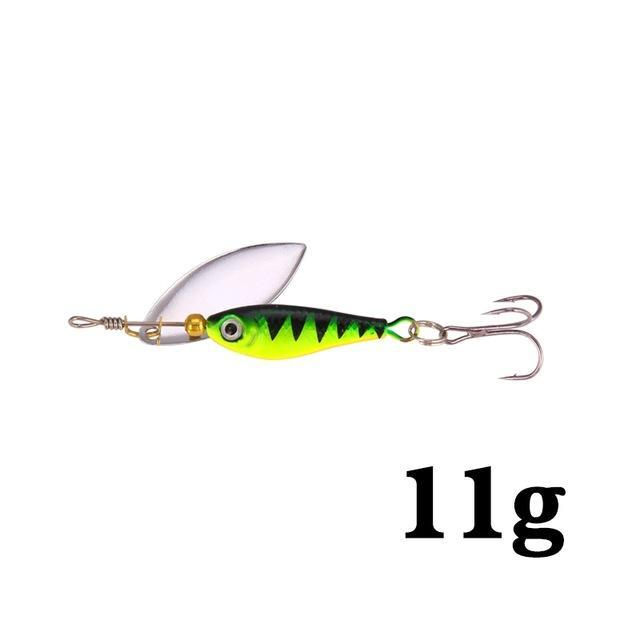 Hight Quality Spinner Spoon Baits Fishing Lure Isca Artificial Pesca 11G 15G 20G-Be a Invincible fishing Store-G-Bargain Bait Box