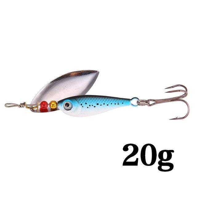 Hight Quality Spinner Spoon Baits Fishing Lure Isca Artificial Pesca 11G 15G 20G-Be a Invincible fishing Store-L-Bargain Bait Box