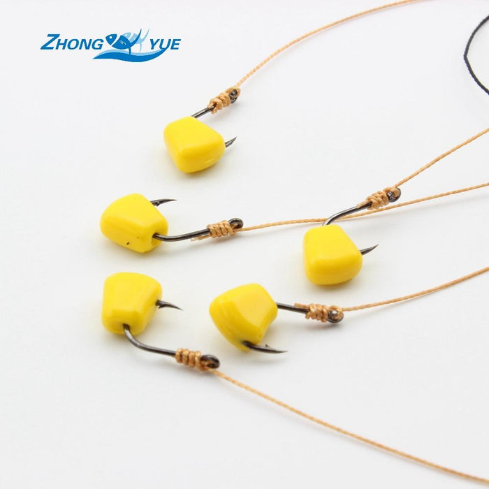Hight Yellow 100Pcs/Lot Great Soft Corn Fishing Carp Tackle Lowest Profit-Corn Baits-Bargain Bait Box-Bargain Bait Box