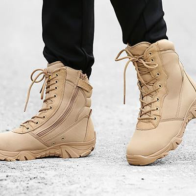 Hiking Shoes Men Military Tactical Combat Boots Hunting Shoes Chaussure Chasse-Boots-Bargain Bait Box-Sandy-7-Bargain Bait Box