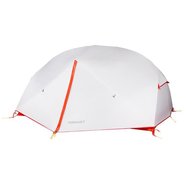 Himaget Nylon Tent Outdoor Anti Torrential Rain Tents Waterproof Camping-Tents-YOUGLE store-Gray-China-Bargain Bait Box