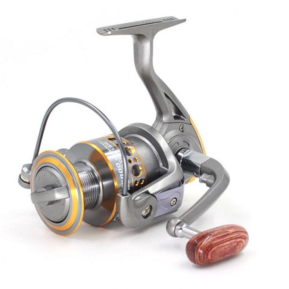 Hot 13Bb Fish Ratio 5.2:1 1000-7000 Series Spinning Fishing Reel Crank-Spinning Reels-LooDeel Outdoor Sporting Store-1000 Series-Bargain Bait Box