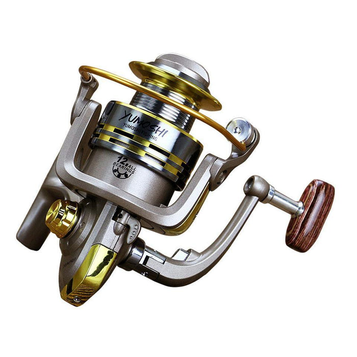 Hot 8 Bb Fish Ratio 5.5:1 1000-7000 Series Spinning Fishing Reel Crank Handle-Spinning Reels-AOLIFE Sporting Store-1000 Series-Bargain Bait Box