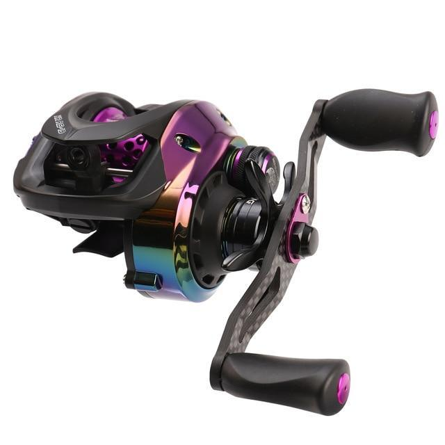 Hot! High Ration 7.3:1 Bfs Baitcasting Reel Left Right Hand Short Axle Metal-Fishing Reels-Mavllos Fishing Tackle Store-BFS Shallow Spool-Left Hand-Bargain Bait Box