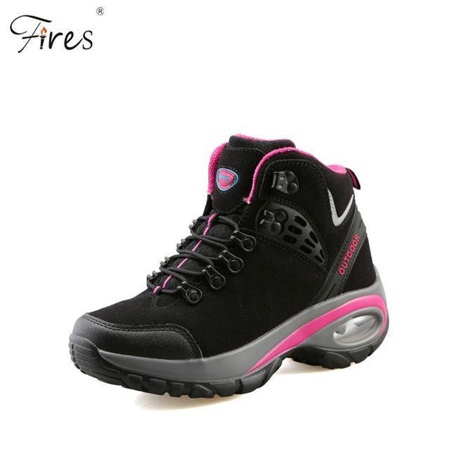 Hot Hiking Shoes Men Breathable Outdoor Snow Boot Shoes Woman Mountain-Fires Official Store-B-5-Bargain Bait Box