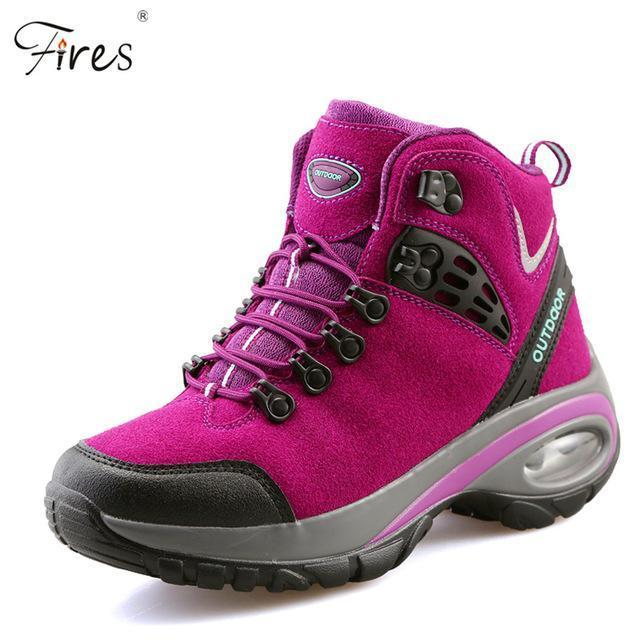 Hot Hiking Shoes Men Breathable Outdoor Snow Boot Shoes Woman Mountain-Fires Official Store-C-5-Bargain Bait Box