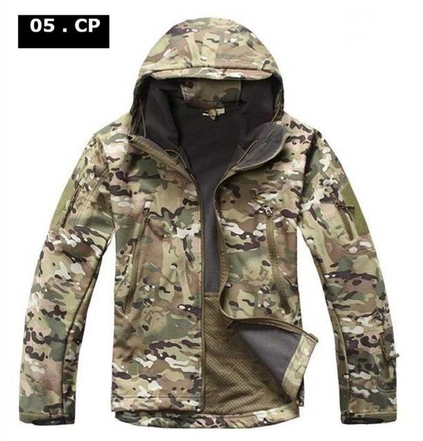 Hot ! Military Winter Hunting Clothes Softshell Tad Tactical Outdoor Hiking-Fuous Outdoor Store-05-S-Bargain Bait Box