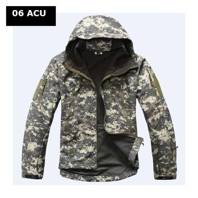 Hot ! Military Winter Hunting Clothes Softshell Tad Tactical Outdoor Hiking-Fuous Outdoor Store-06-S-Bargain Bait Box