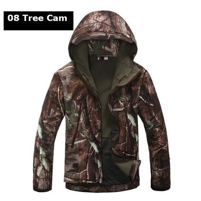 Hot ! Military Winter Hunting Clothes Softshell Tad Tactical Outdoor Hiking-Fuous Outdoor Store-08-S-Bargain Bait Box